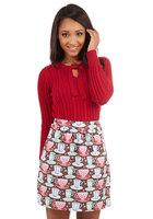 Plus size Hot Chocolate Charm Skirt