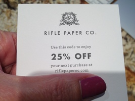 Rifle Paper Co. 25% Off Code