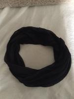 Rochelle black Infinity scarf