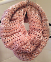 Look By M Infinity Knit Scarf