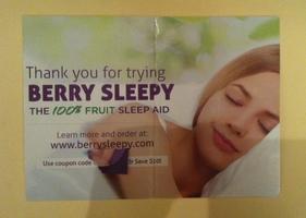 Berry sleepy $10 off code