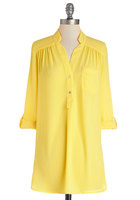 Pam Breeze-ly Tunic in Yellow