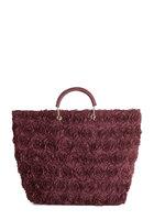 Tote-ally Cute Bag in Wine