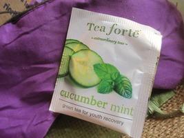 Tea Forte skin-smart antioxidant amplifier tea in Cucumber Mint