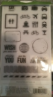 Cricut Stamps in Traveling Together