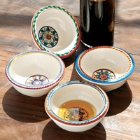 Set of 4 Olive Oil Dipping Bowls By Le Cadeaux