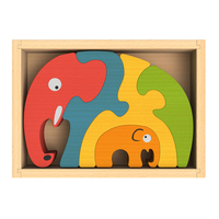 Begin Again Family Puzzle Elephant