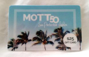 $25 Gift Card to Mott50