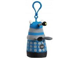 Doctor Who Blue Dalek - Talking Clip On Plush