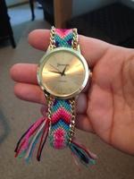 handmade woven friendship watch