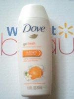 Dove Go Fresh Revitalize Body Wash -Mandarin and Tiare Flower Scent sample