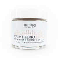 Being Calma Terra French Pink Complexion Clay