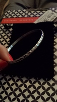 Bangle Bracelet with Velvet Pouch