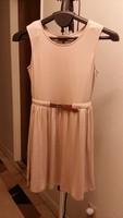 Ya Los Angeles beige dress with belt - small