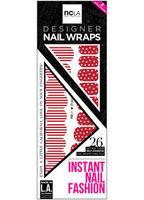 NCLA Nail Wraps in Peppermint Lane