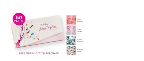 Incoco Spring Florals nail appliqué kit