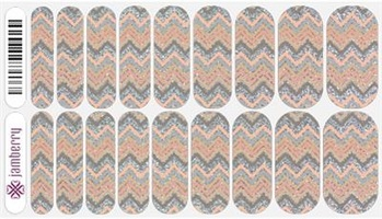 Jamberry Nail Wraps- Sugar and Spice