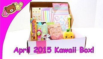 Entire April Kawaii Box