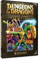 Dungeons and Dragons: The Animated Series - Beginnings DVD