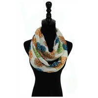Jules Smith Floral Infinity Scarf