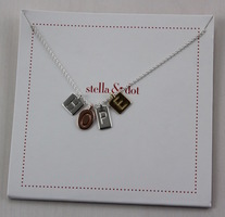 Stella & Dot HOPE charm necklace
