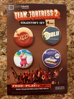 Exclusive Team Fortress 2 Button Set