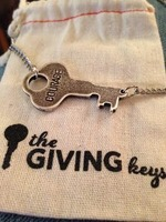 The Giving Keys - Courage Necklace