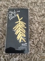 Golden Palm tree bookmark