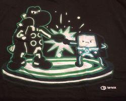 1Up Box Exclusive- Yoshi BMO Fist Bump T-Shirt