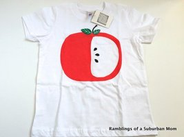 Kid's Tee Shirt, Big Apple, Screen printed