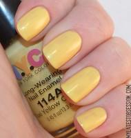"NYC Long Wearing Nail Polish in ""Taxi Yellow Creme"""