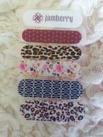 Five Jamberry Accent Strips (at least 10 nails)