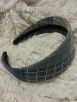 Patchwork Denim Headband