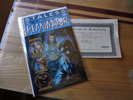 REANIMATOR #2 Signed Box of Dread Exclusive with Black Ink)
