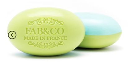Fab&Co 2 Perfumes Soap - Lemongrass & Sage