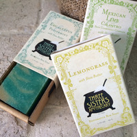 Three Sisters Apothecary Rosemary Mint Soap