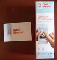 Chef Sleeve Disposable iPhone Sleeves