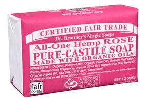 Dr. Bronner's Castille Soap-Rose