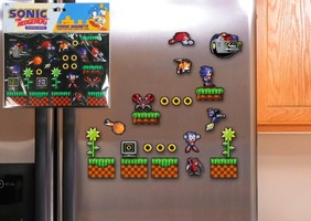 Sonic the Hedgehog - Fridge Magnets