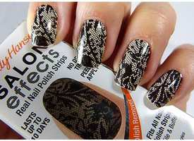 Sally Hansen Salon Effects Nail Polish Strips - Laced Up