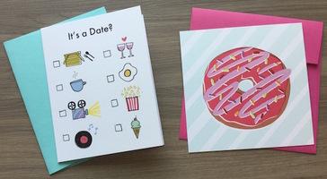 It's a Date? Folded Card