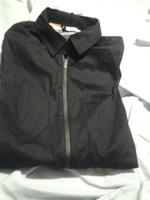 Florence long sleeve men's black dress shirt