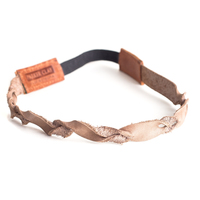 Parker Clay leather hairband