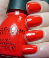 Sinful Colors Energetic Red