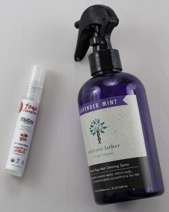 mind over lather Natural Yoga Mat cleaning spray