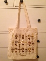 Golden Tote May Bag