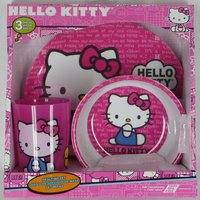 Hello Kitty Mealtime Dish Set