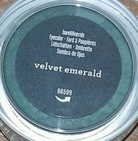 velvet emerald bareMinerals eyeshadow