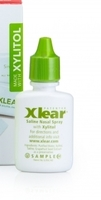 Xlear saline nasal spray with xylotol