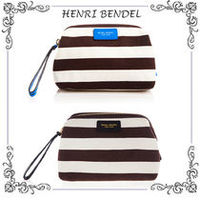 Henri Bendel Signature Stripe Canvas Dopp Kit